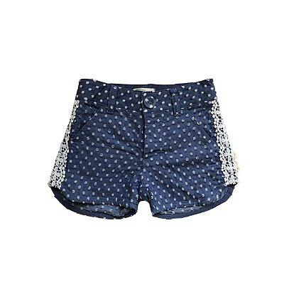 Shorts MATINEE Infantil Azul com Bolinhas