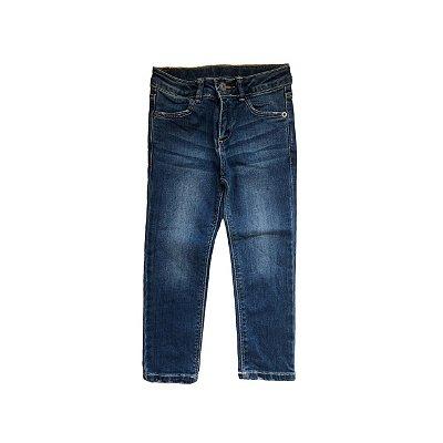 Calça Jeans ZARA Infantil Azul Manchada