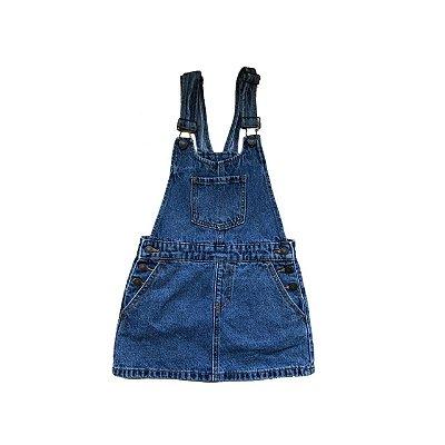 Jardineira Jeans FOREVER 21 Infantil