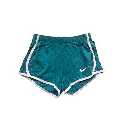 Shorts Nike Infantil Azul e Branco