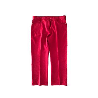 Calça Social Fucsia Vermelha