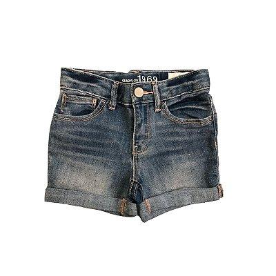 Bermuda Jeans GAP KIDS Costura Rosa