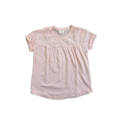 Camiseta ZARA Infantil Rosa