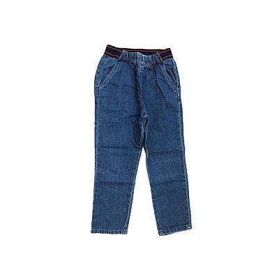 Calça Jeans ZARA Infantil Elastico na Cintura