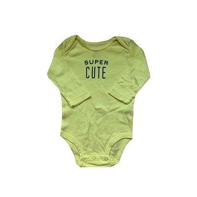 Bodie CARTER'S Infantil Amarelo SUPER CUT