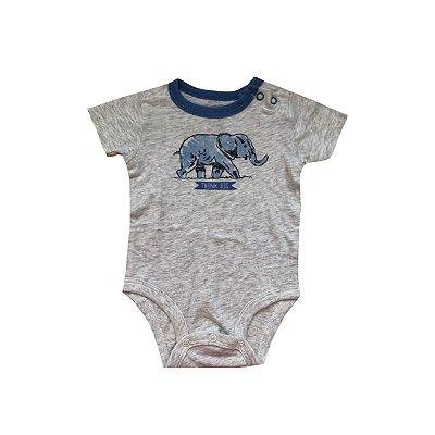 Bodie OSHKOSH Infantil Cinza Elefante Azul