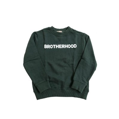 Moletom ZARA Infantil Verde BROTHERHOOD
