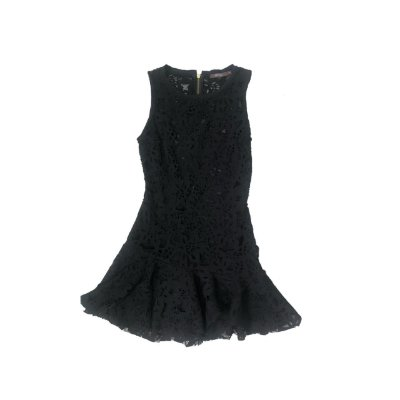 Vestido MIXED Feminino Preto Renda