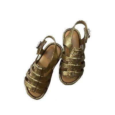 Sandalia MELISSA  Infantil Dourada