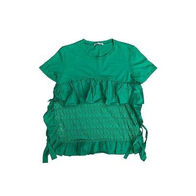 Bata ZARA Feminina Verde