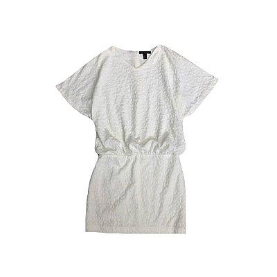 Vestido MNG Feminino Off White