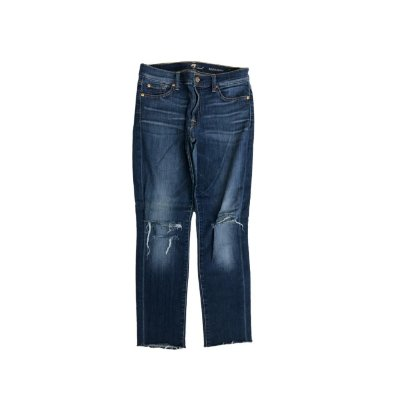 Calca Jeans SEVEN Feminina Rasgada Joelho