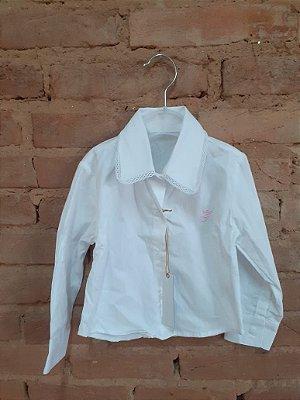 Camisa CRAWLING Infantil Branca (com Etiqueta)