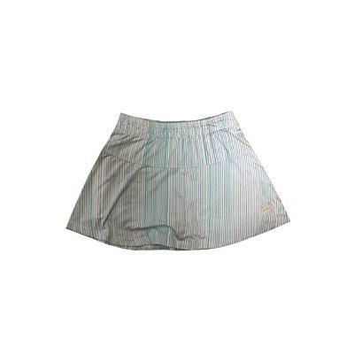 Shorts Saia Track&Field Azul e Branco