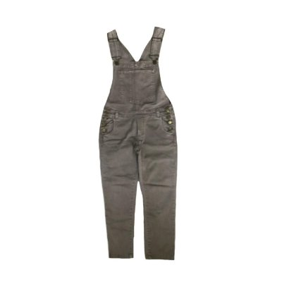 Macacão Jeans NYBD Feminino Marrom Claro