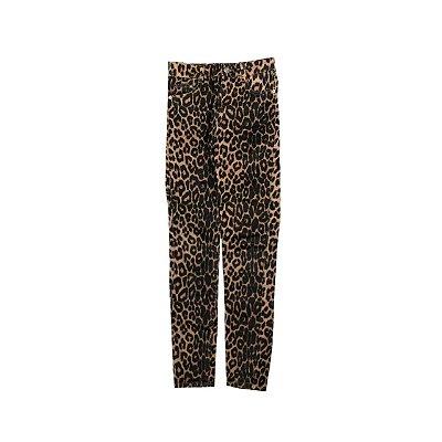 Calça Jeans ZARA Animal Print