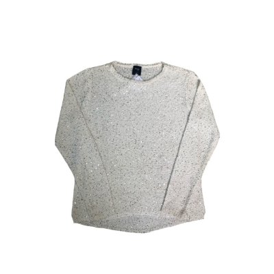 Tricot Hering Off White com Apliques