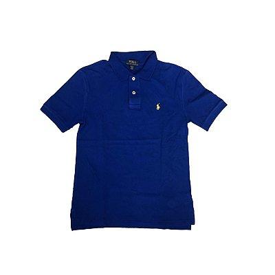 Camiseta Polo RALPH LAUREN Infantil Azul Bic
