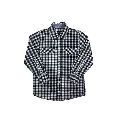 Camisa CALVIN KLEIN JEANS Infantil Xadrez