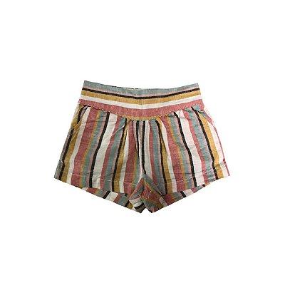 Shorts COTTON-ON Infantil Listras Coloridas
