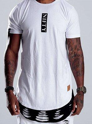 Camiseta Oversized Botone White