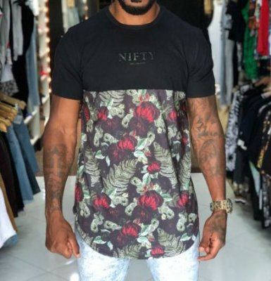 Camiseta Nifty Divided Flowers Dn03