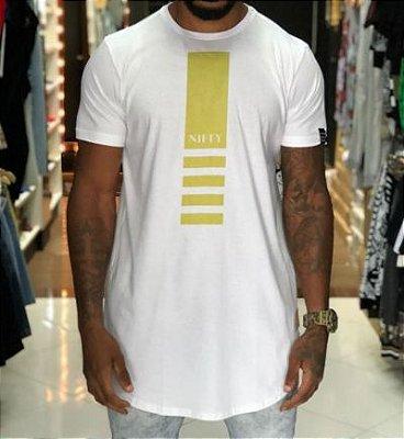 Camiseta Nifty Band Gold White