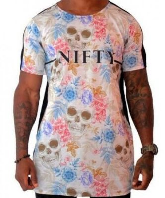 Camiseta Nifty Long Skull Colors