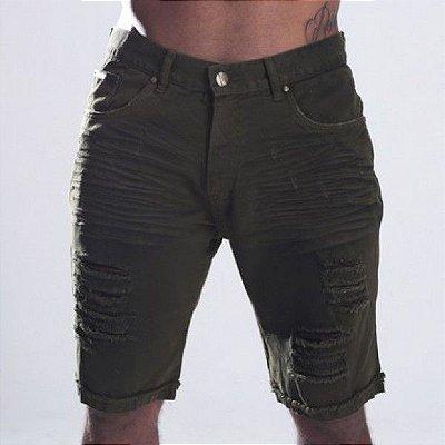 Bermuda Jeans Nifty Moss Brim Green