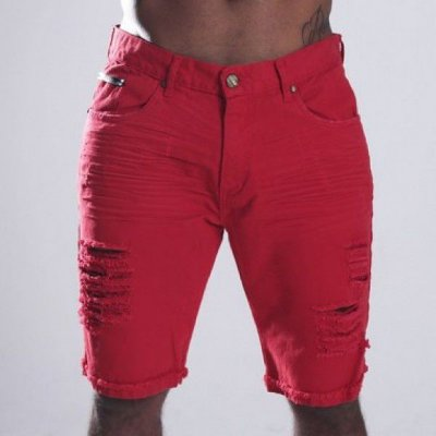 Bermuda Jeans Nifty Brim Red