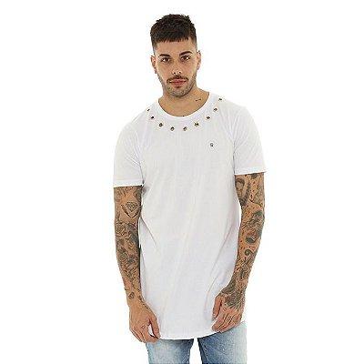 Camiseta Dabliu Costa New Ilhos Branca