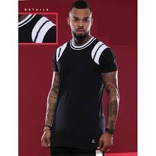 Camiseta Hundred Striped Shoulder