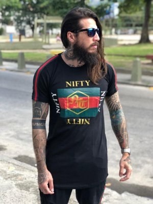 Camiseta Nifty Italy 1 Black