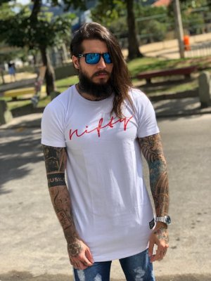 Camiseta Nifty UseNifty White/Red