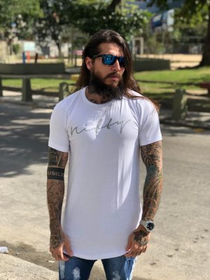 Camiseta Usenifty White/Silver