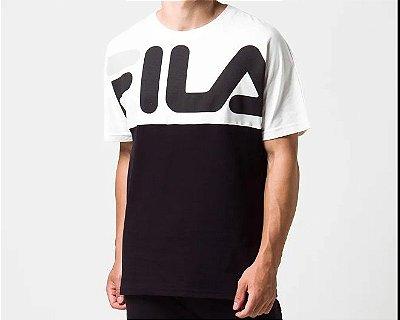 Camiseta Mas. Fila Lenox Black