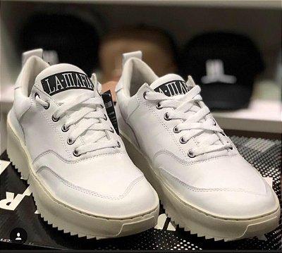 Tênis LaMafia Clothing Tratorado White