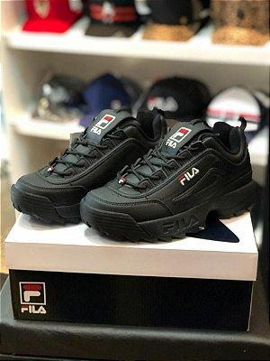 Tênis Fila Footwear Disruptor Black/Black