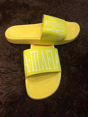 Chinelo Masc. LaMafia Amarelo Fluor