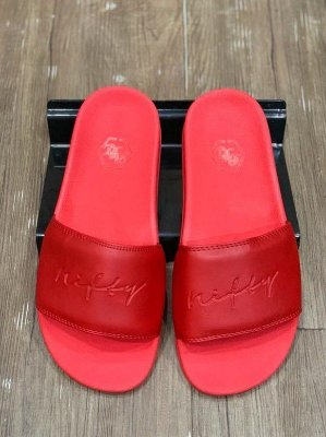 Chinelo Slide Nifty Red/Red