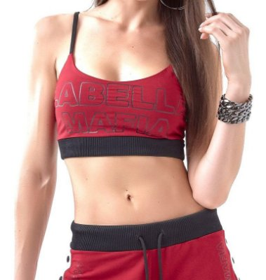 Top LabellaMafia Black/Red