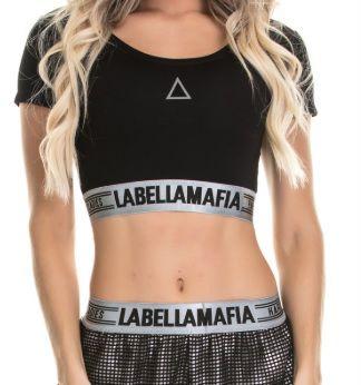 Blusa Cropped LabellaMafia