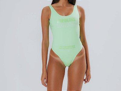 Body LabellaMafia Verde Flúor