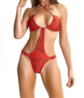Body LabellaMafia Animal Printed Red