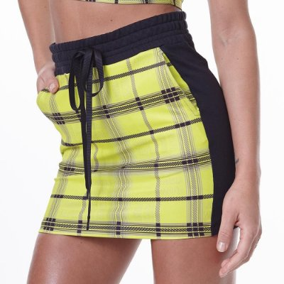Saia LabellaMafia Neon Check Beverly