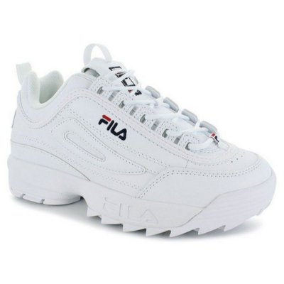 Tênis Fila Footwer Disruptor White/Navy/Red
