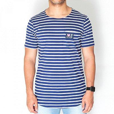 Camiseta Dabliu Costa  Stripes Blue Dab X Titto