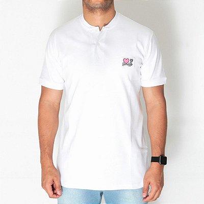 Camiseta De Botão D White Dab X Titto