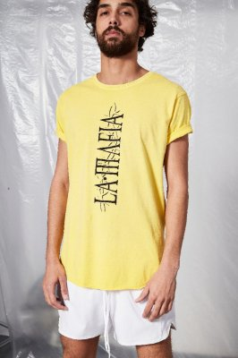 Camiseta LaMafia Amarela