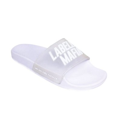 Chinelo Fem. Slide LabellaMafia Branco